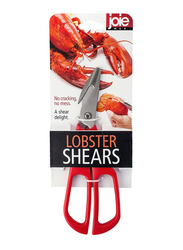 Joie Lobster Shears, Red/Silver