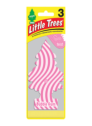Little Trees Bubblegum Card Air Freshener, Pink