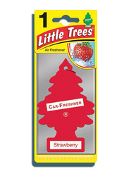 Little Trees Strawberry Paper Air Freshener, Red