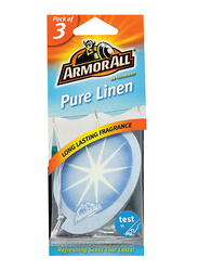 Armor All Pure Linen Air Freshener, 3 Pieces