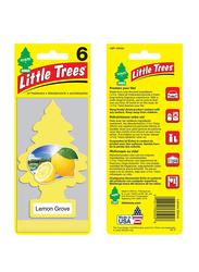 Little Trees Lemon Grove Paper Air Freshener, Yellow