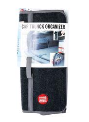 All Ride Car Trunk Organizer, Grey/Black, 21x49x15 cm