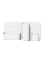 Honey Can Do 5-Piece Perch Starter Kit, White