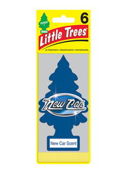 Little Trees New Car Paper Air Freshener, Blue