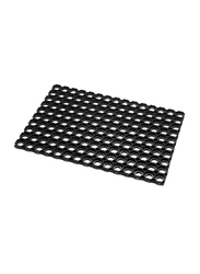 Addis Honey Comb Doormat, Black