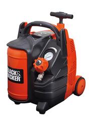 Black & Decker 10 Bar Compressor, Dark Orange/Black