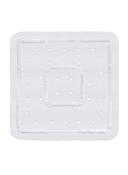 Wenko Florida Shower Mat, 55 x 55cm, White