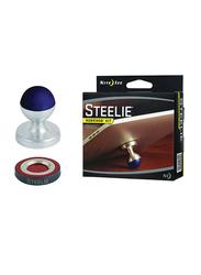 Nite Ize Steelie HobKnob Mini Kit, White/Blue