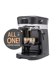 Breville All-in-One Coffee House, 1630W, VCF117, Black