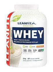 LeanFit Naturals Whey Protein, 2 KG, Vanilla