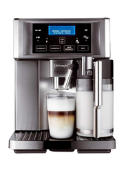 Delonghi PrimaDonna Avant Espresso and Cappuccino Coffee Machine, 1350W, ESAM6700, Silver