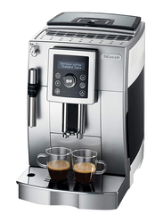 Delonghi Espresso Coffee Machine, 1450W, ECAM 23.420.SW, Silver/White