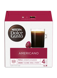 Nescafe Dolce Gusto Cafe Americano Coffee Capsules, 16 Capsules/16 Cups