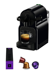 Inissia Nespresso Coffee Machine, 1260W, XN100540, Black