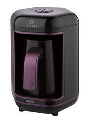 King Kismet Turkish Automatic Coffee Machine, 550W, K605, Black/Purple