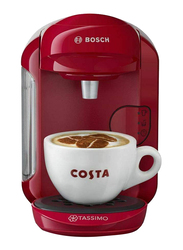 Bosch Tassimo Vivy 2 Coffee Machine, 1300W, TAS1401GB, Pink