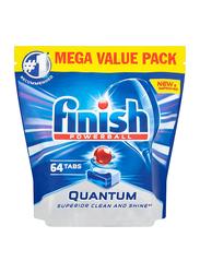 Finish Powerball Quantum Dishwasher Tablets, 64 Tablets