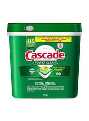 Cascade Power Clean Dishwasher Detergent, 115 Tabs, 1.77 Kg