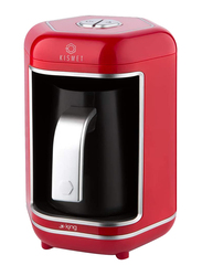 King Kismet Turkish Automatic Coffee Machine, 550W, K605, Red