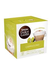 Nescafe Dolce Gusto Cappuccino Extra Cremoso Coffee Capsules, 16 Capsules/8 Cups
