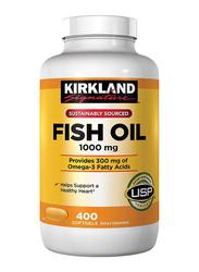 Kirkland Signature Fish Oil, 1000mg, 400 Softgels