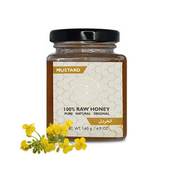 Bee's Nectar Organic Natural Mustard Honey, 140 gm
