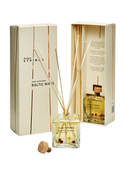 Amber Strings Reed Diffuser Baltic Wave Home Fragrance, 100ml, Clear