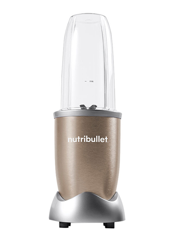 Nutribullet Pro Series 12-Piece 900ml Electric Stainless Steel/Plastic Blender Set, 900W, NB9-1212, Copper/Clear