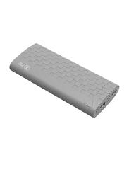 Havit 13200mAh Fast Charging Power Bank, with Micro-USB Input, with LED Light, PB-752, Grey
