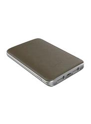 Havit 5000mAh Fast Charging Power Bank, with Micro-USB Input, PB-004X, Brown