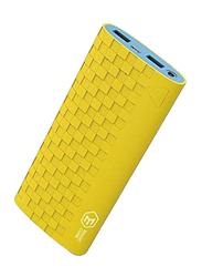 Havit 13200mAh Fast Charging Power Bank, with Micro-USB Input, with LED Light, PB-752, Yellow