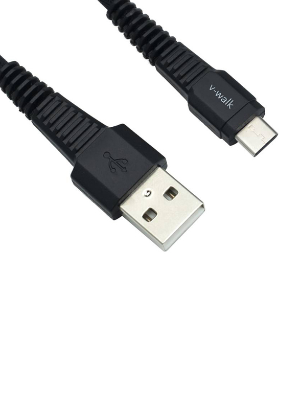 V-Walk 1-Meter High Tech USB Type-C Charging Cable, USB Type A Male to USB Type-C for Type-C Devices, Black