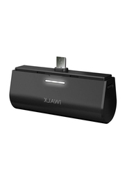 Iwalk 3000mAh Power Bank, with Micro-USB Input, DBS3000M, Black