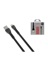 Havit 1.8-Meter Lightning Cable, Fast Charging USB 2.0 Type-A Male to Lightning for Apple Devices, Black