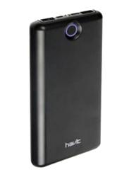 Havit 20000mAh Power Bank with USB Type C and Micro-USB Input, Black