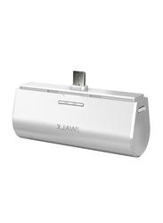 Iwalk 3000mAh Power Bank, with Micro-USB Input, DBS3000M, White