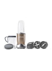 Nutribullet Pro Series 10-Piece 900ml Electric Stainless Steel/Plastic Blender Set, 900W, NB9-1012, Copper/Clear