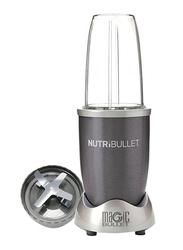 Nutribullet 6-Piece 680ml Electric Stainless Steel/Plastic Blender Set, 600W, NBR-0612, Grey/Clear