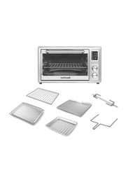 Nutri Cook 30L Electric Stainless Steel Smart Air Fryer Oven, 1800W, NC-SAFO30, Silver