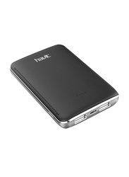 Havit 5000mAh Fast Charging Power Bank, with Micro-USB Input, PB-004X, Black