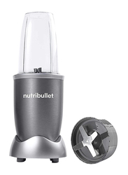 Nutribullet 5-Piece 680ml Electric Stainless Steel/Plastic Blender Set, 600W, NBR-0512, Grey/Clear