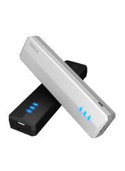 Iwalk 10400mAh Supreme Duo Power Bank, with Micro-USB Input, with Micro-USB Cable, UBS10400D, Black