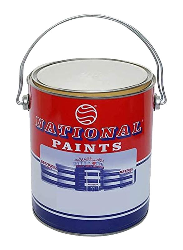 National Paints 3.6Ltr Plastic Emulsion, 802 Broken White