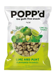 Popp'd Lime and Mint Flavored Fox Nuts, 35g