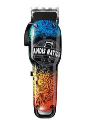 Andis Cordless USPRO Li Fade Clipper with Adjustable Blade, Multicolor