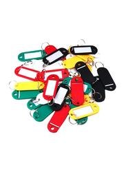 Modest Key Tag, 100-Pieces, Multicolor