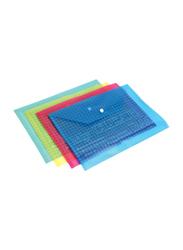 Modest Filling Envelope Document Storage Set, 4-Pieces, Multicolor