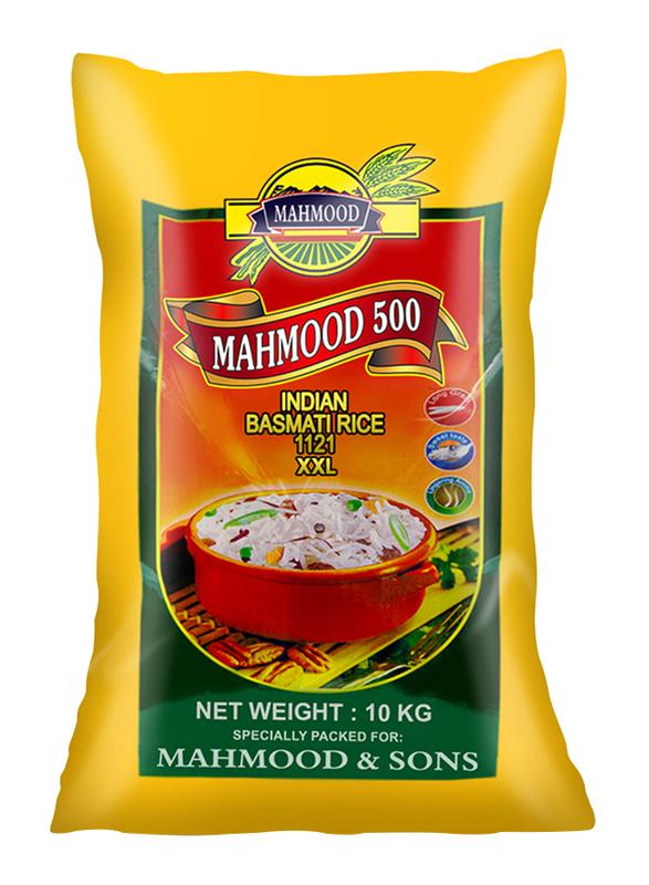 Mahmood 500 Indian 1121 XXL Basmati Rice, 10 Kg