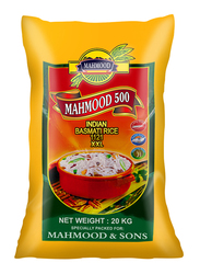 Mahmood 500 Indian 1121 XXL Basmati Rice, 20 Kg