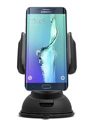 Promate Mount-2 Car Holder, Car Mount Holder for Smartphone and GPS, Black